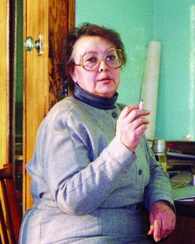 Марова Галина Васильевна -диктор